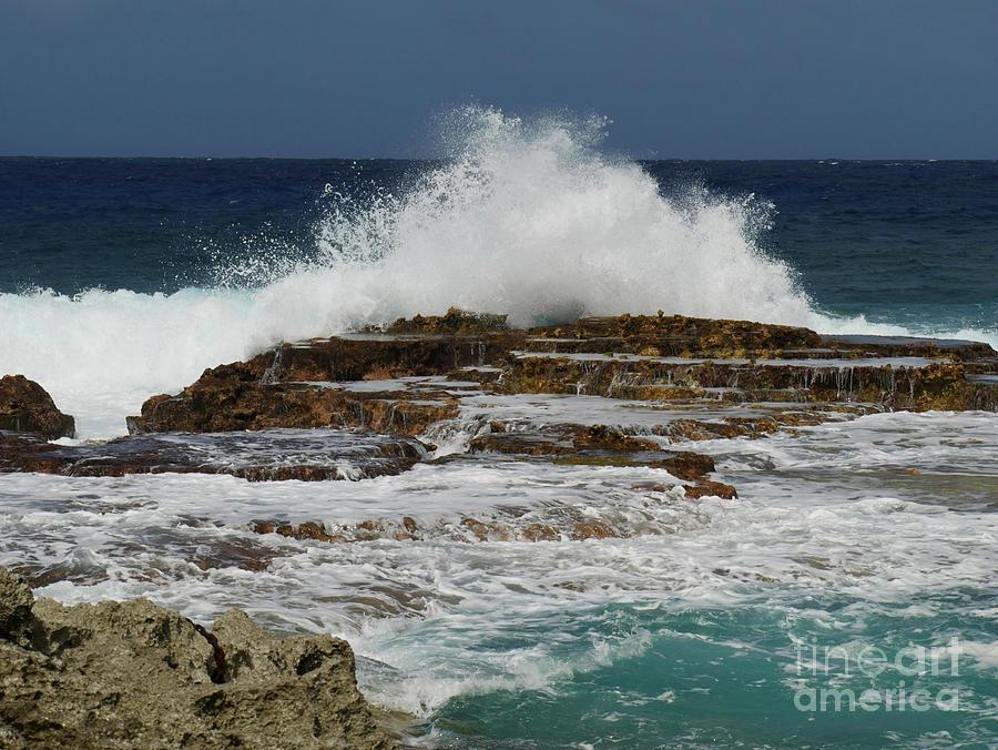 Giant Splashes Photograph