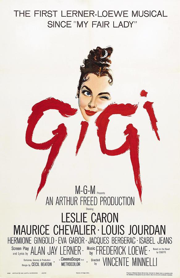 gigi - 1958 Mixed Media