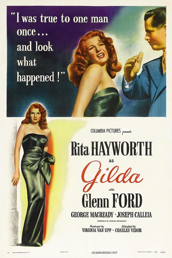 gilda - 1946 Mixed Media