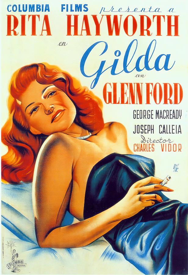 gilda, With Rita Hayworth, 1946 Mixed Media