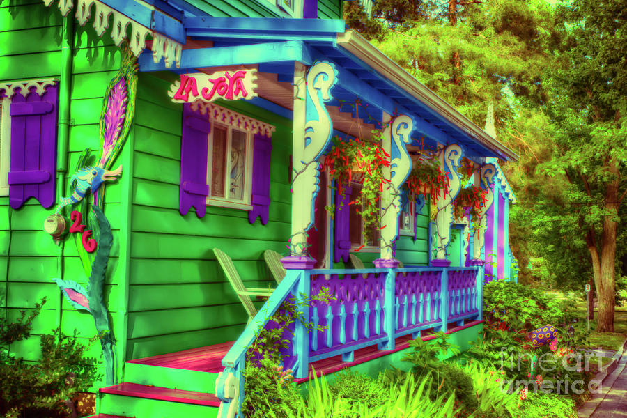 Gingerbread Cottage Photograph - Gingerbread Cottage 14 by Robert Alsop