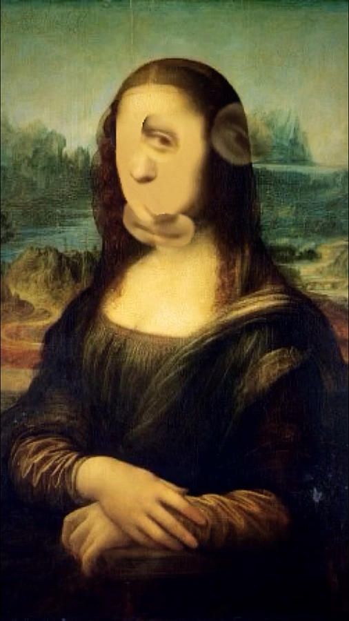 Gioconda - Mona Lisa instagram filters - Modern something by Andrea