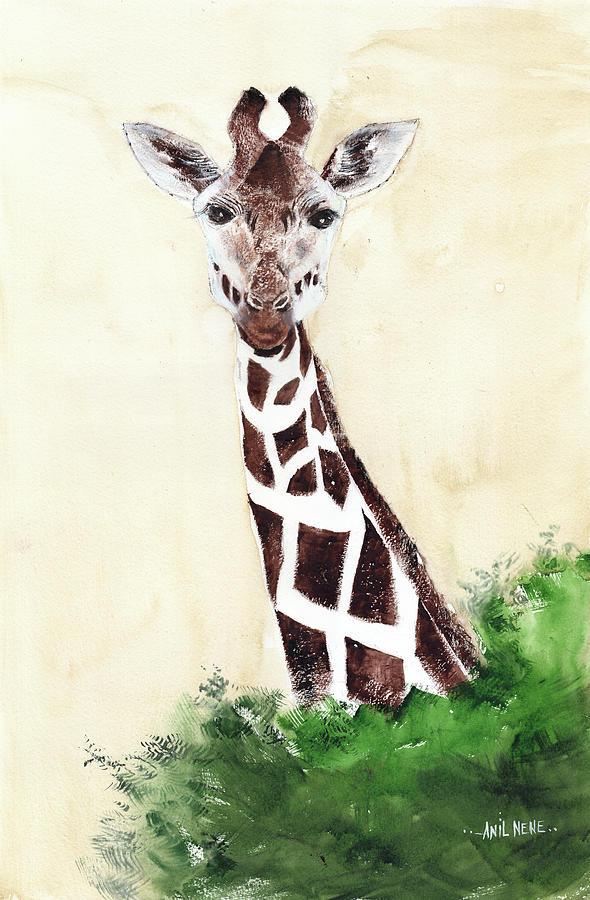 Giraffe 1 Painting