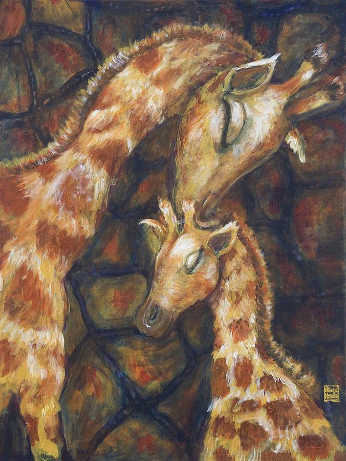 Giraffe I Painting