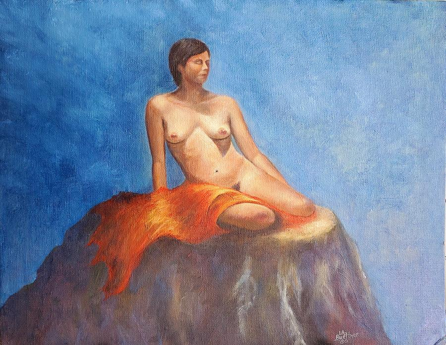 Girl on fire by LYNN BUETTNER