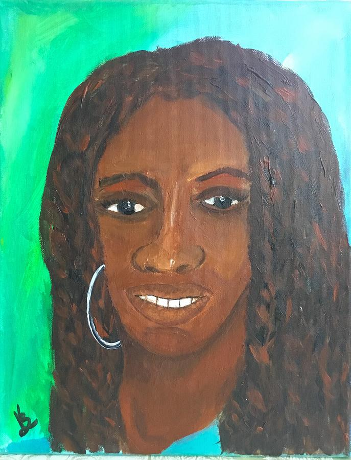 Girl with Twistsc by Karen Buford