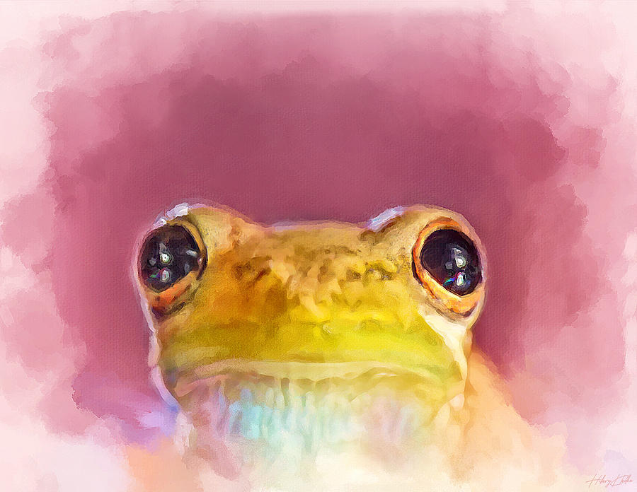 Girly Froggy Painting