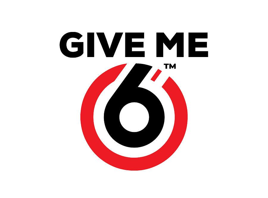 Awareness Digital Art - Give Me 6 TM by Planet Pasha