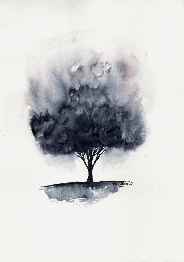 Watercolor Painting - Giving Beyond by Kelly Edwards