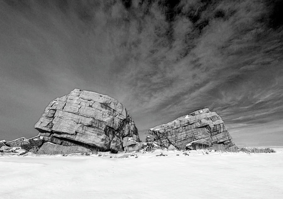 Glacial Erratic 01 by Philip Rispin