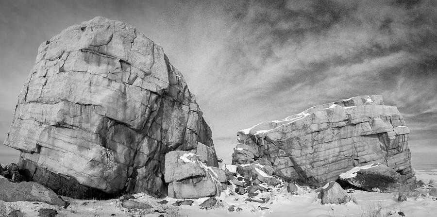 Glacial Erratic 03 by Philip Rispin