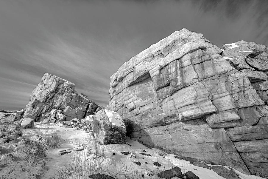 Glacial Erratic 04 by Philip Rispin