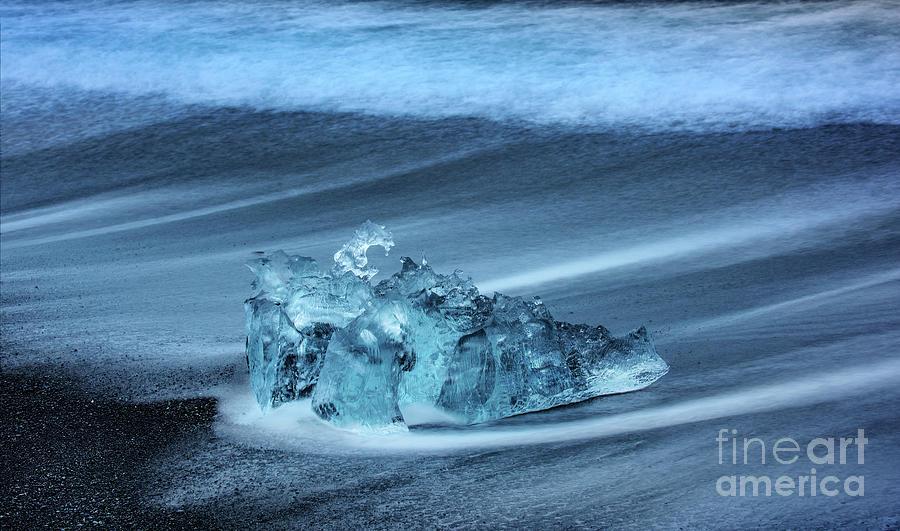 Glacial Ice - Jokulsarlon Photograph