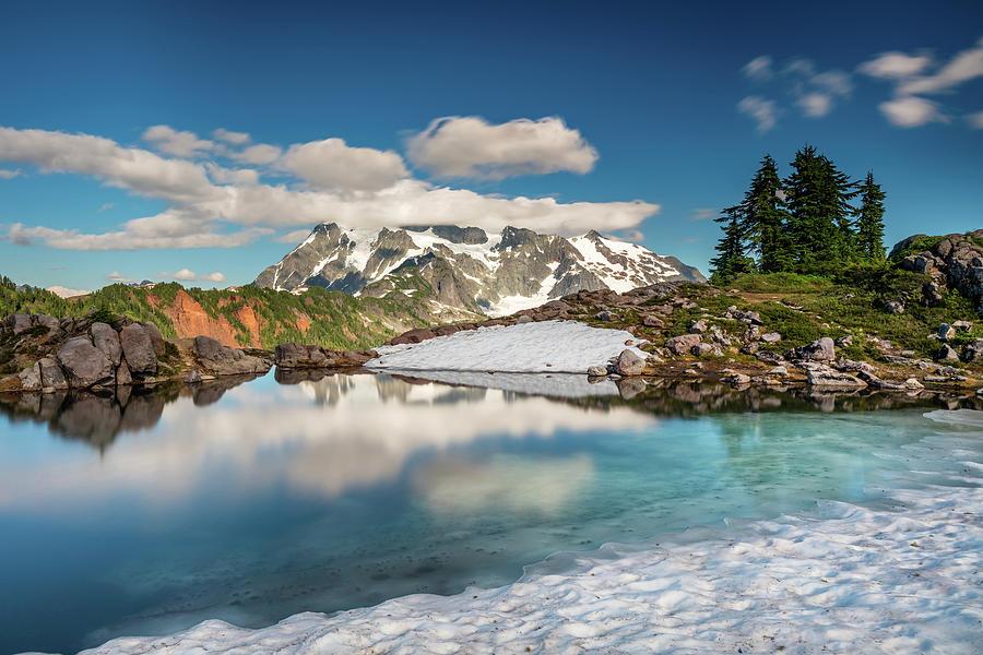Glacial Mountain Pond Photograph