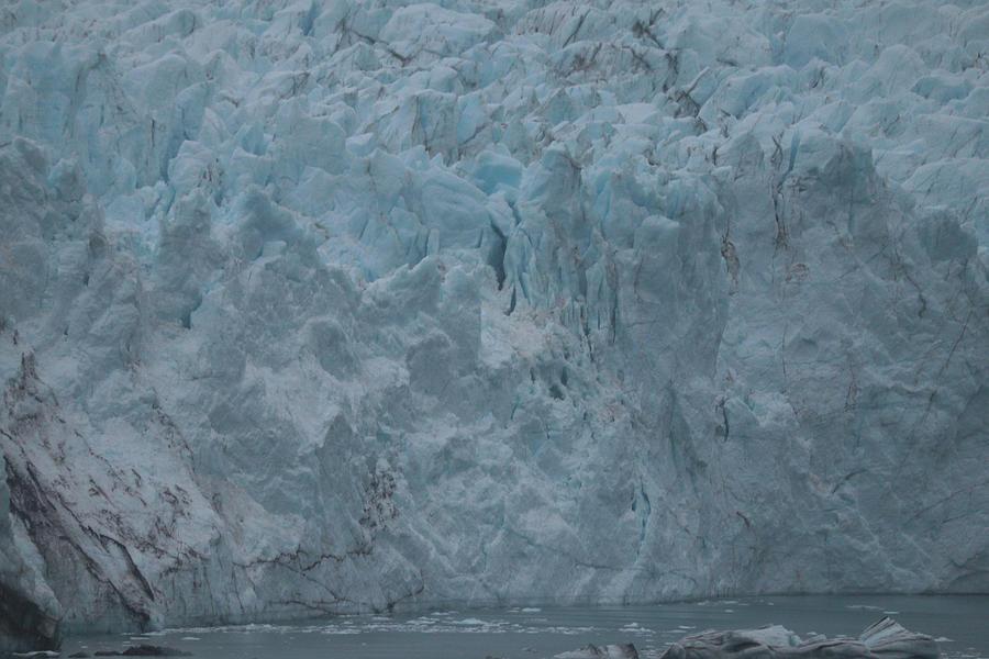 Glacier Bay Glacial Closeness Photograph