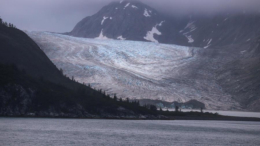 Glacier Bay Glacial Colors Photograph