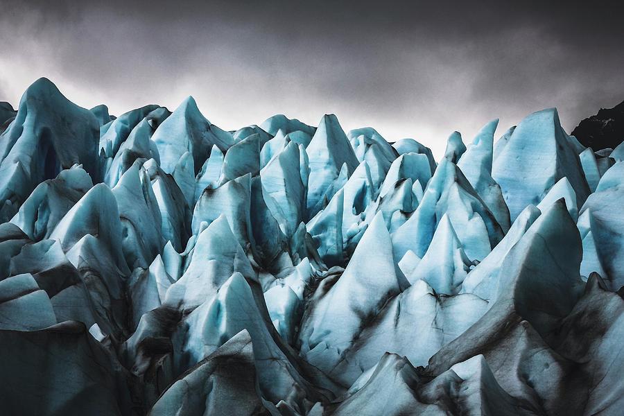 Glacier Grey - Patagonia Chile Photograph