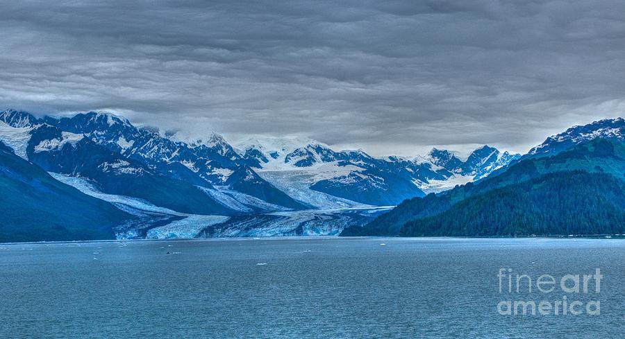 Glaciers In Alaska Photograph