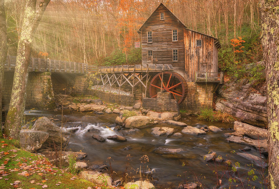 Glade Creek Grist Mill by Darren White