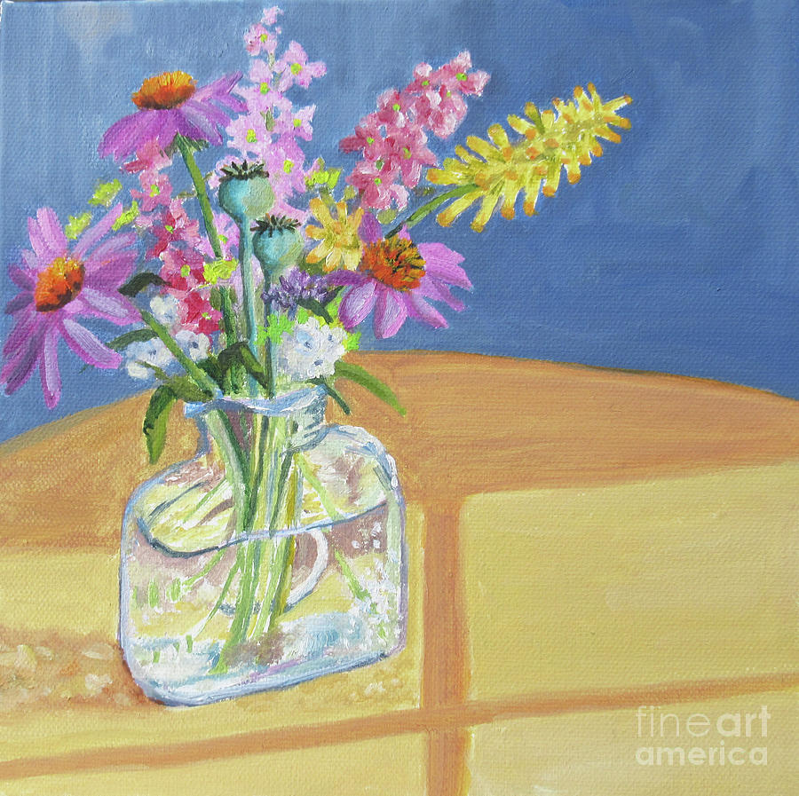 Glass Arrangement by Anne Marie Brown
