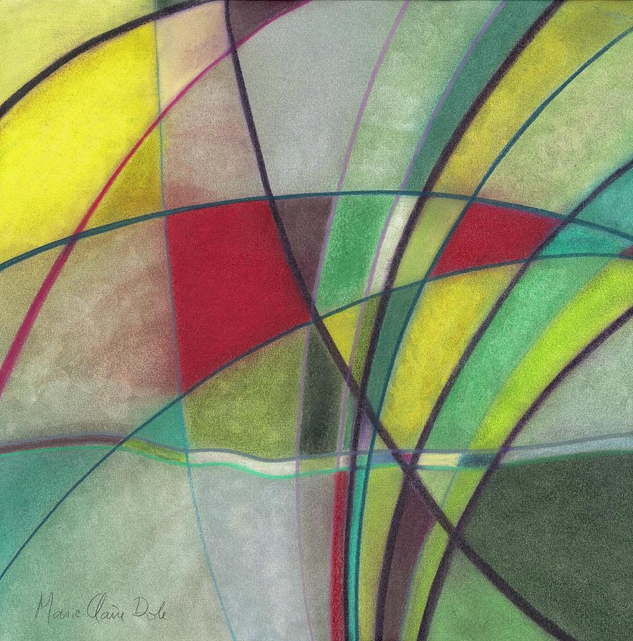 Vitrail Pastel - Glass Dance by Marie-Claire Dole