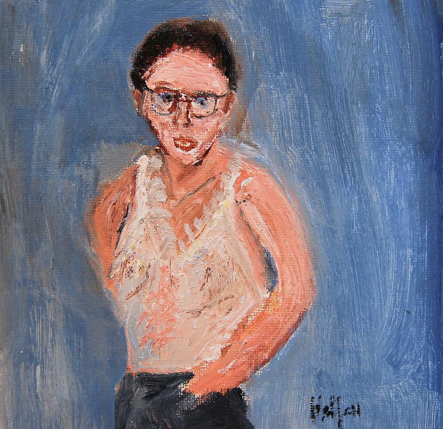 Glasses Girl by Michael Helfen