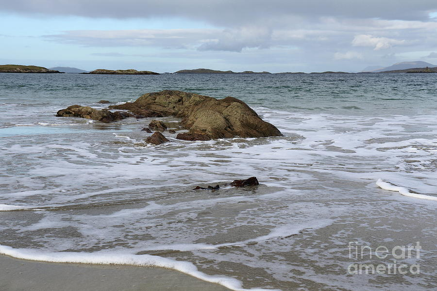 Glassilaun beach 2 by Peter Skelton