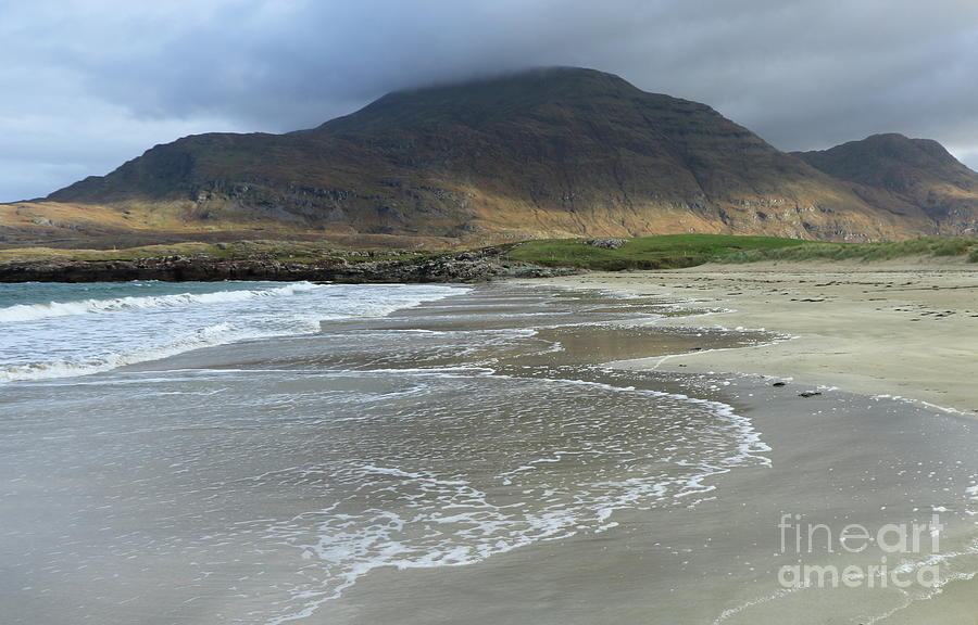 Glassilaun beach Renvyle 3 by Peter Skelton