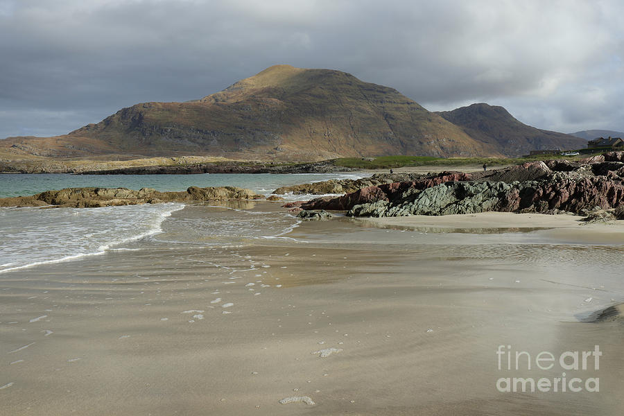 Glassilaun beach Renvyle by Peter Skelton