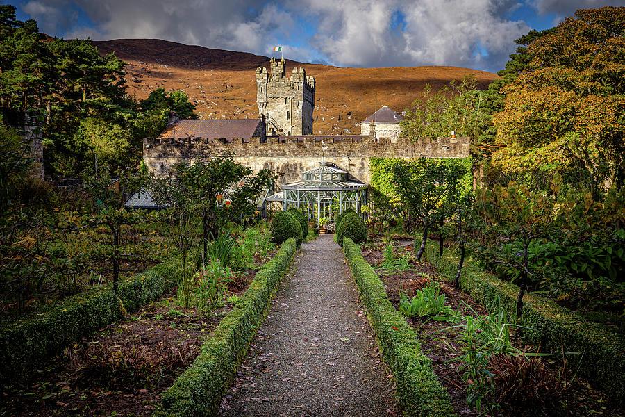 Glenveagh Castle 3, Donegal Photograph