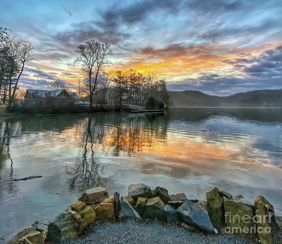 Glorious Morning At Claytor Lake State Park Photograph