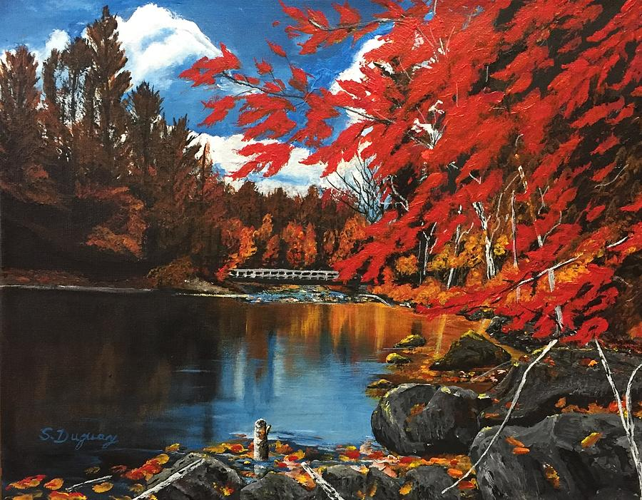 Glorious Ontario Maples Painting