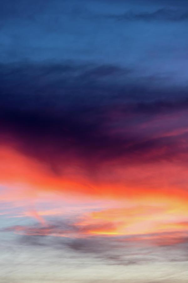 Glorious Sunset Colors Photograph