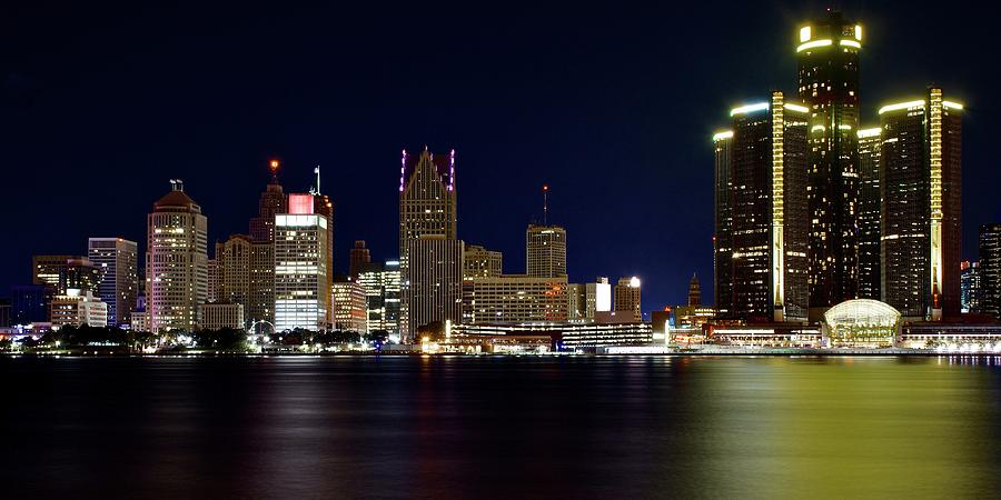 Gm Towers High And Tall In Detroit Photograph
