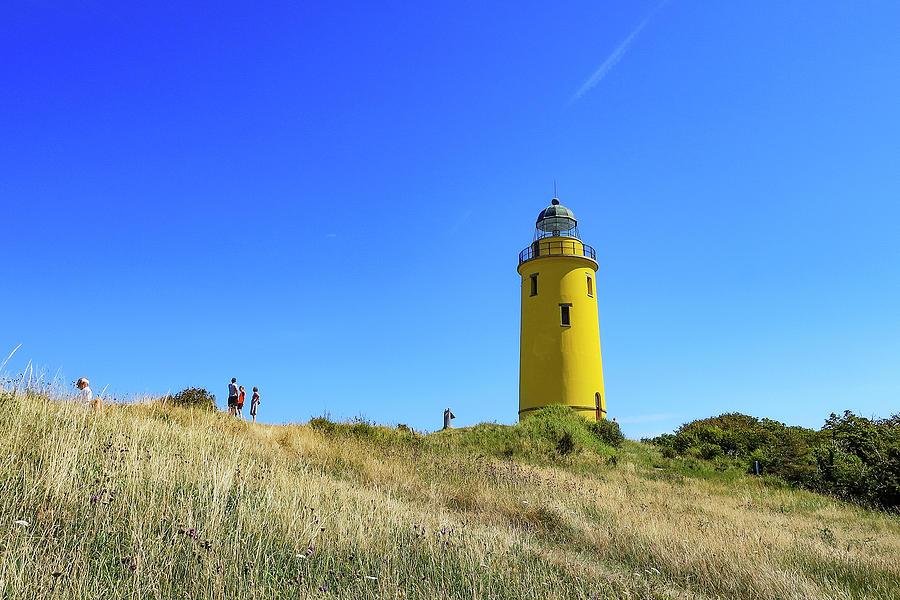 Gniben Lighthouse Sejeroe 2 Photograph