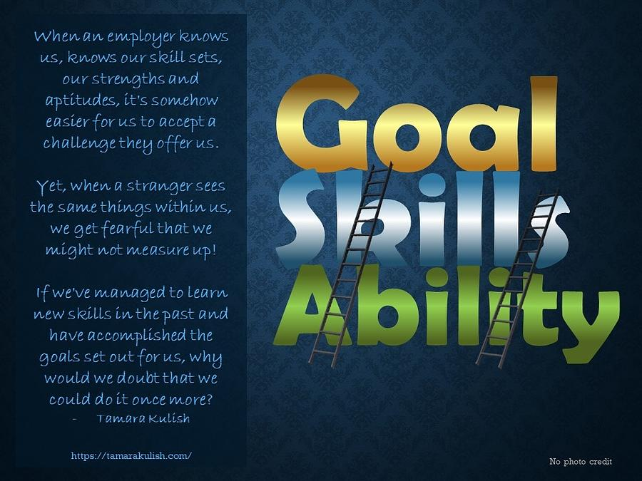 Goal Photograph - Goal, Skills, Ability by Tamara Kulish