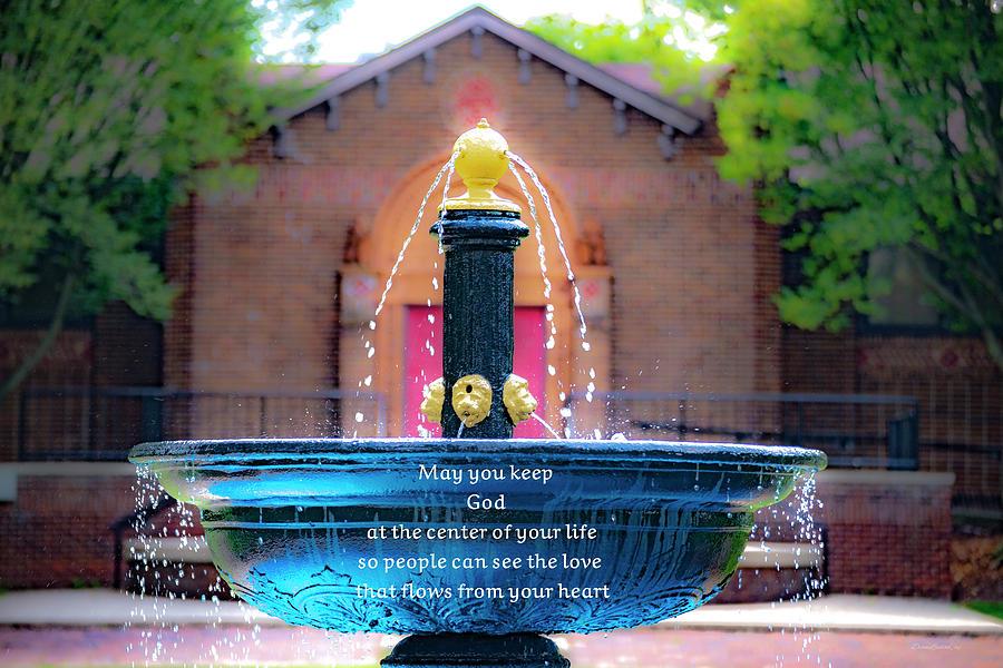 God Center by Diane Lindon Coy