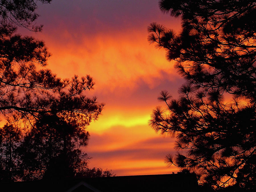 God Is The Glory Sunset by Matthew Seufer
