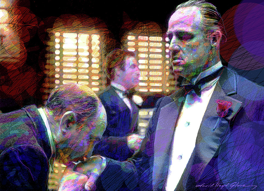 Godfather - The Kiss Painting