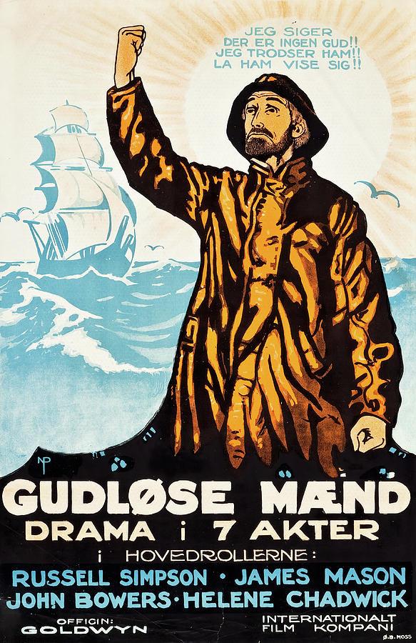 godless Men,1920 Mixed Media