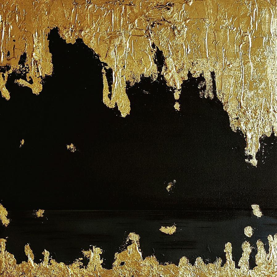 Gold Mine 2 Mixed Media