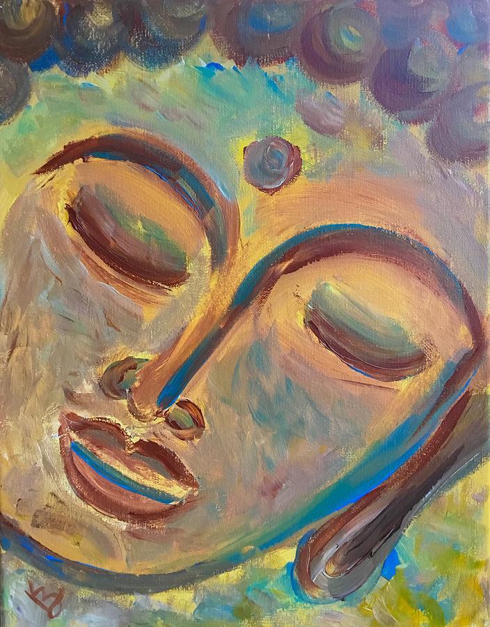 Golden Buddha  by Karen Buford