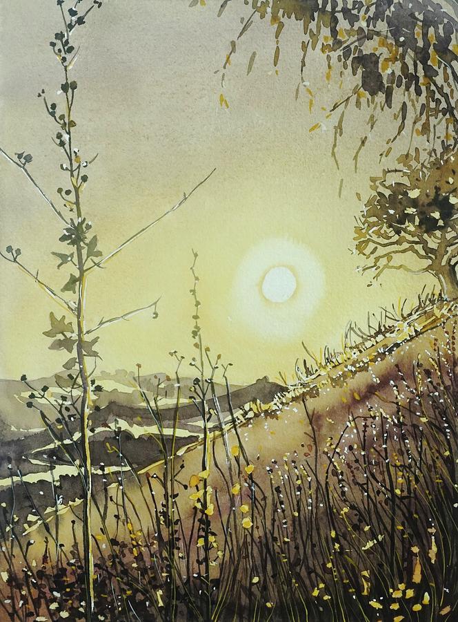 Golden Evening Glow Painting