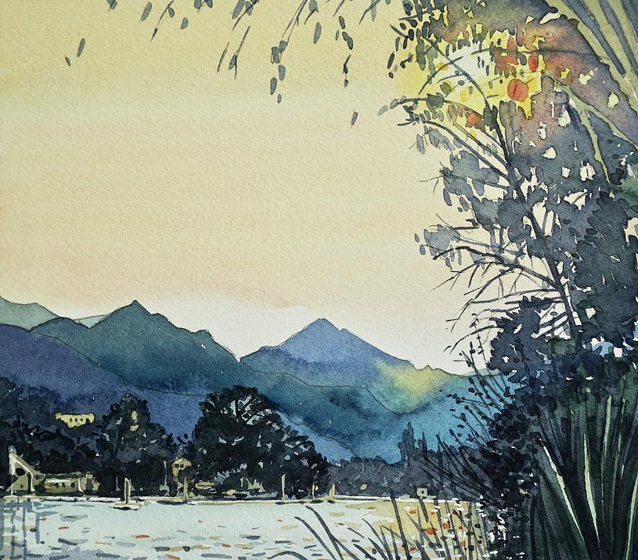 Golden Evening Painting