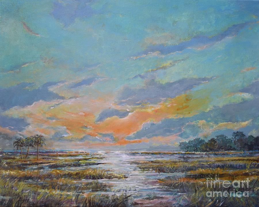 Golden Florida Dusk by Sinisa Saratlic
