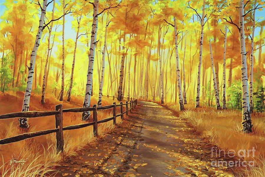 Golden Forest by Joe Mandrick