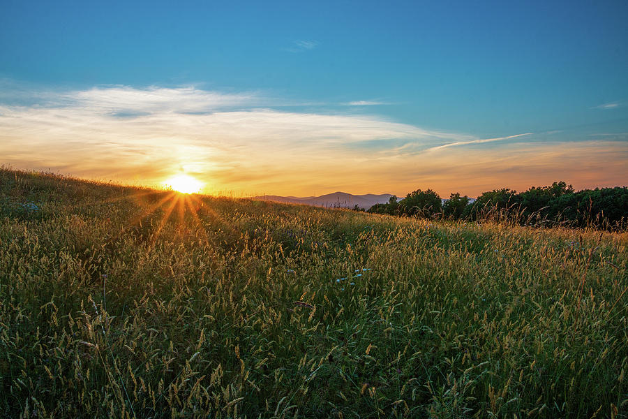 Golden Hour Photograph - Golden Hour at Million Dollar View II by Jeff Severson