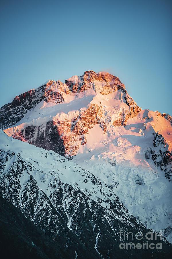 Golden Peak Photograph