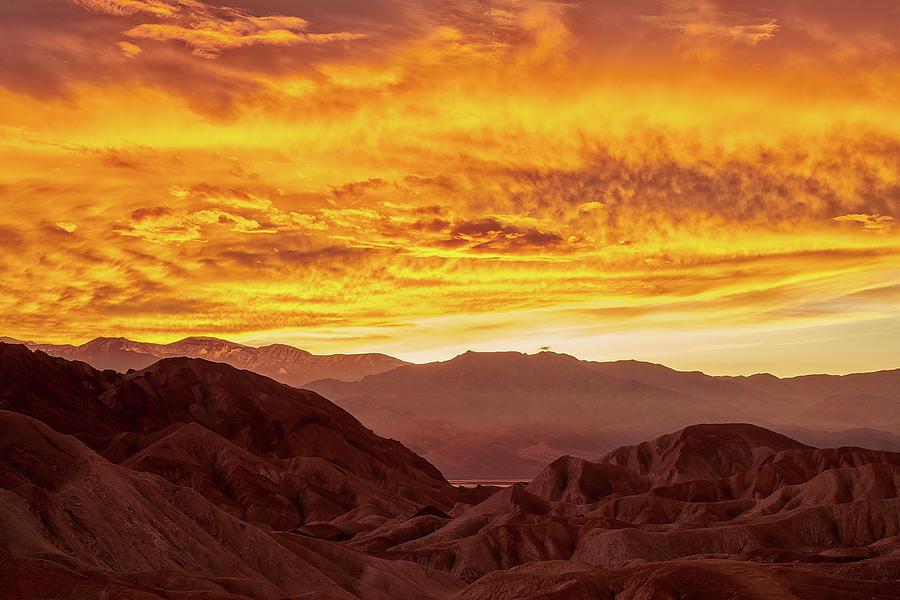 Golden Skies of Zabriskie by Jon Glaser