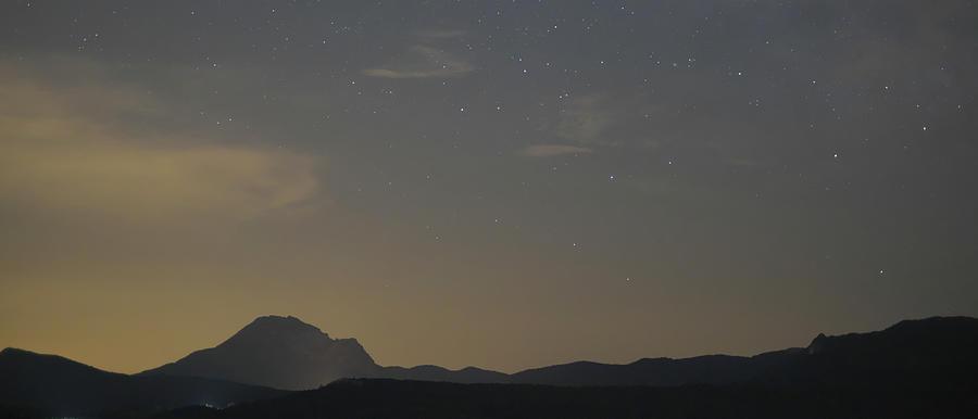 Landscape Photograph - Golden sky or Starry sky ? by Karine GADRE